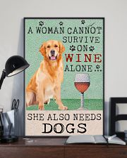 Golden Woman Cannot Survive 11x17 Poster lifestyle-poster-2