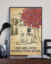 Labradoodle She Lived Happily 11x17 Poster lifestyle-poster-2