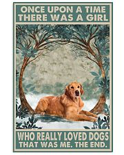 Dark Golden Retriever Once Upon A Time 1 11x17 Poster front