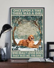 Dark Golden Retriever Once Upon A Time 1 11x17 Poster lifestyle-poster-2