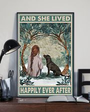 Labrador Happily Ever After 11x17 Poster lifestyle-poster-2