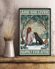 Labrador Happily Ever After 11x17 Poster lifestyle-poster-3