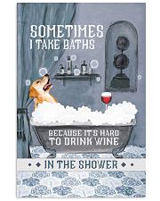Golden Retriever I Take Baths 11x17 Poster front