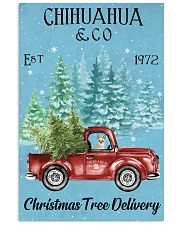 Chihuahua Christmas Tree Delivery 11x17 Poster front