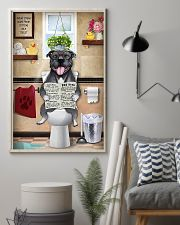 Staffordshire Bull Terrier Sitting Great Ideas 11x17 Poster lifestyle-poster-1