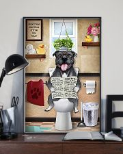 Staffordshire Bull Terrier Sitting Great Ideas 11x17 Poster lifestyle-poster-2
