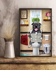 Staffordshire Bull Terrier Sitting Great Ideas 11x17 Poster lifestyle-poster-3