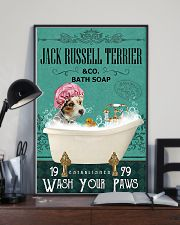 Dog Jack Russell Terrier Bath Soap 11x17 Poster lifestyle-poster-2
