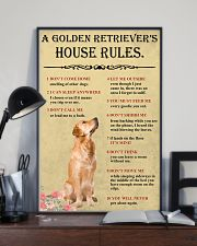 Golden Retriever House Rules 11x17 Poster lifestyle-poster-2