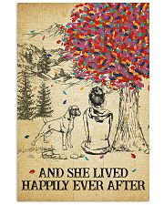Boxer She Lived Happily 11x17 Poster front