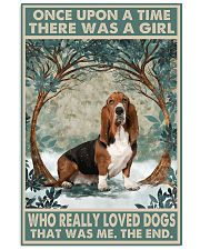 Basset Hound Once Upon A Time 11x17 Poster front
