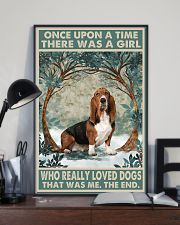 Basset Hound Once Upon A Time 11x17 Poster lifestyle-poster-2