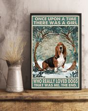 Basset Hound Once Upon A Time 11x17 Poster lifestyle-poster-3