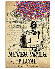 Chihuahua Never Walk Alone 11x17 Poster front