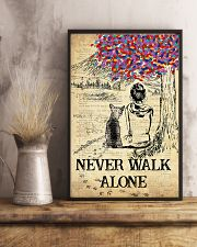 Chihuahua Never Walk Alone 11x17 Poster lifestyle-poster-3