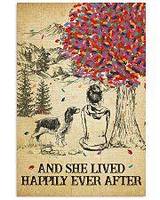 Springer Spaniel She Lived Happily 11x17 Poster front