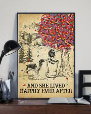 Springer Spaniel She Lived Happily 11x17 Poster lifestyle-poster-2