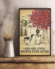 Springer Spaniel She Lived Happily 11x17 Poster lifestyle-poster-3