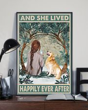 Golden Retriever Happily Ever After 11x17 Poster lifestyle-poster-2