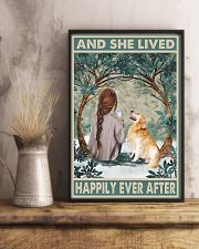 Golden Retriever Happily Ever After 11x17 Poster lifestyle-poster-3