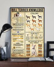 Bull Terrier Knowledge 11x17 Poster lifestyle-poster-2