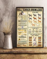 Bull Terrier Knowledge 11x17 Poster lifestyle-poster-3