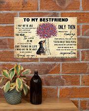 Dachshund To My Bestfriend 17x11 Poster poster-landscape-17x11-lifestyle-23
