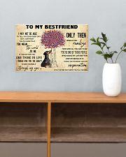 Dachshund To My Bestfriend 17x11 Poster poster-landscape-17x11-lifestyle-24
