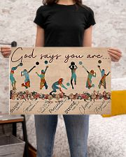 Volleyball - God Says You Are 24x16 Poster poster-landscape-24x16-lifestyle-20