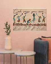 Volleyball - God Says You Are 24x16 Poster poster-landscape-24x16-lifestyle-22