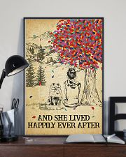Pomeranian She Lived Happily 11x17 Poster lifestyle-poster-2
