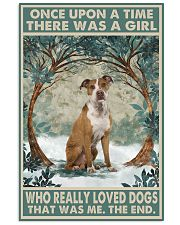 Tan Staffordshire Terrier Once Upon A Time 11x17 Poster front