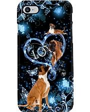 boxer flower dark Phone Case i-phone-8-case