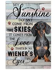 Dachshund Comes From The Love 11x17 Poster front