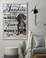Dachshund Comes From The Love 11x17 Poster lifestyle-poster-1