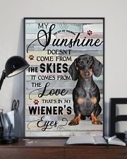 Dachshund Comes From The Love 11x17 Poster lifestyle-poster-2