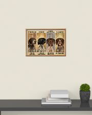 German Shorthaired alway be by your side 24x16 Poster poster-landscape-24x16-lifestyle-09