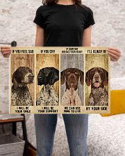 German Shorthaired alway be by your side 24x16 Poster poster-landscape-24x16-lifestyle-20