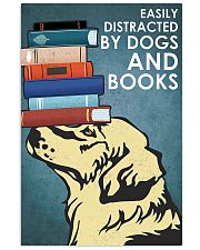 Dog Golden And Books 11x17 Poster front