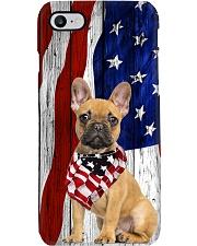 French BullDog Usa Flag Phone Case i-phone-8-case