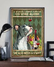 Staffordshire Bull Terrier cannot survive 11x17 Poster lifestyle-poster-2