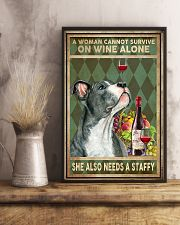 Staffordshire Bull Terrier cannot survive 11x17 Poster lifestyle-poster-3