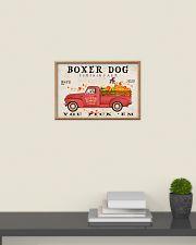 boxer pumpkin farm 24x16 Poster poster-landscape-24x16-lifestyle-09