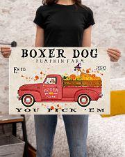 boxer pumpkin farm 24x16 Poster poster-landscape-24x16-lifestyle-20