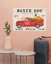 boxer pumpkin farm 24x16 Poster poster-landscape-24x16-lifestyle-22