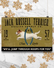 jack russell agility supply 24x16 Poster aos-poster-landscape-24x16-lifestyle-31