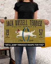 jack russell agility supply 24x16 Poster poster-landscape-24x16-lifestyle-20