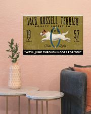 jack russell agility supply 24x16 Poster poster-landscape-24x16-lifestyle-22