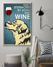 Dog Golden And Wine 11x17 Poster lifestyle-poster-1