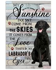 Labrador Comes From The Love 11x17 Poster front
